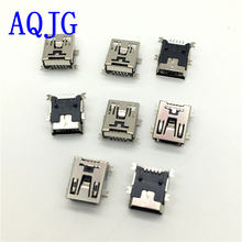 200pcs Mini USB connector SMD Data interface 5pin 5 needle mini Micro usb socket AQJG