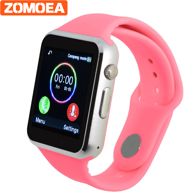 bff7f439009de Hombres Mujeres Smart Watch para Android Bluetooth deporte podómetro apoyo  WhatsApp Twitter smartwatches para cámara Samsung