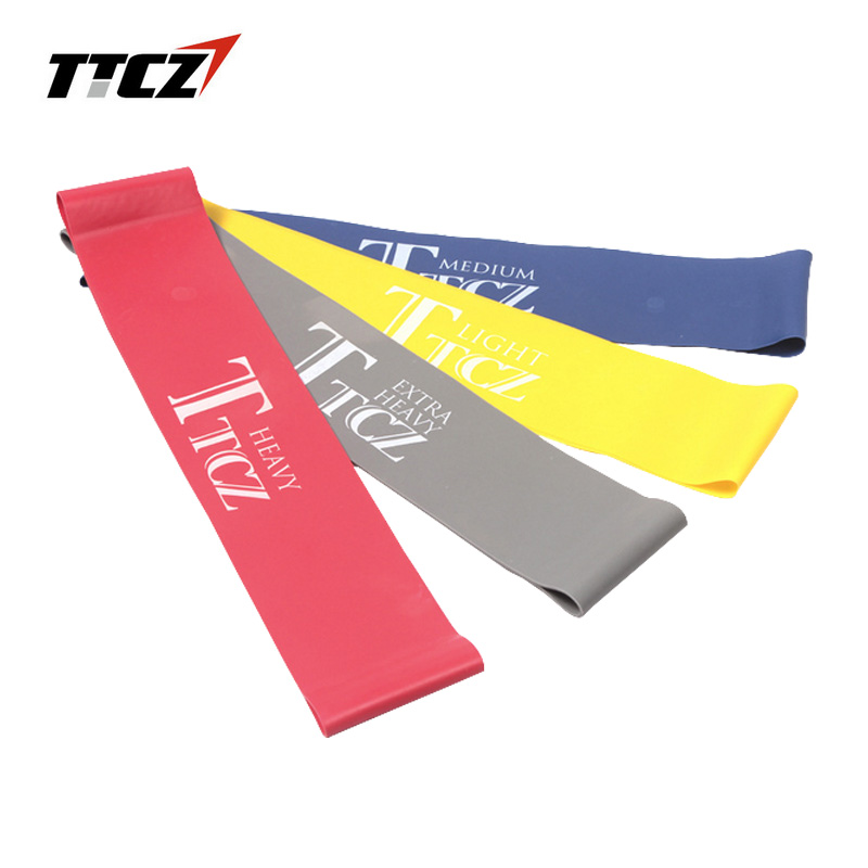 TTCZ Yoga Pilates Resistance Band Exercise Loop Rubber Bands Fitness Loop rope Stretch Band Cross fit band for bodybuilding 8 type elastic tension rope gym fitness sport rubber loop pull rope exercise stretch belt pilates yoga belt random color