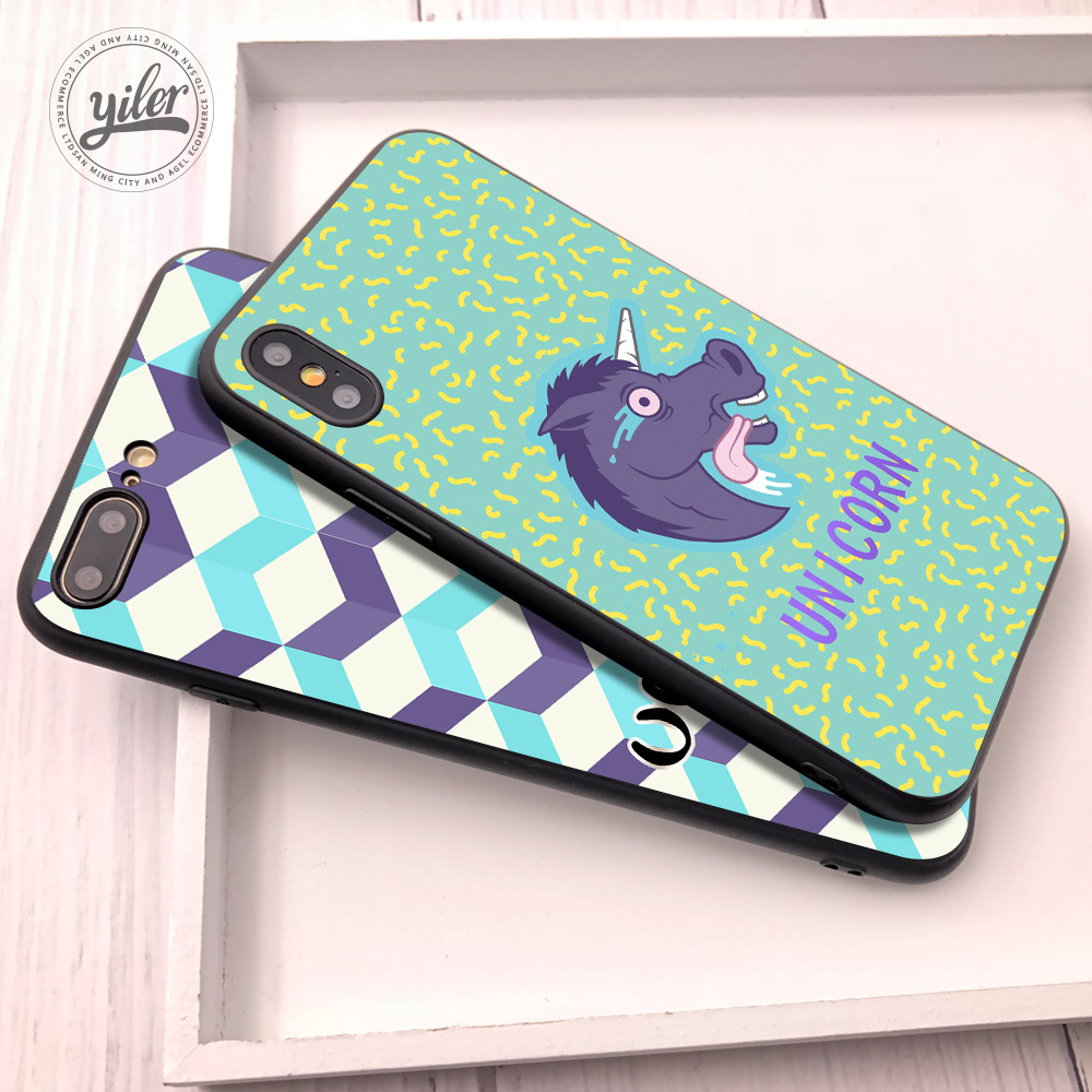 Fashion Unicorn Case for iPhone XS Max XR 5 5S SE Cases Shell Funda 6S 6 7 8 Plus Cover