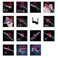 14 pcs /lot Hot Games APEX Legends Figures Toy APEX Legends Hero Gun Model Keychain Set Pendant Accessories 21cm