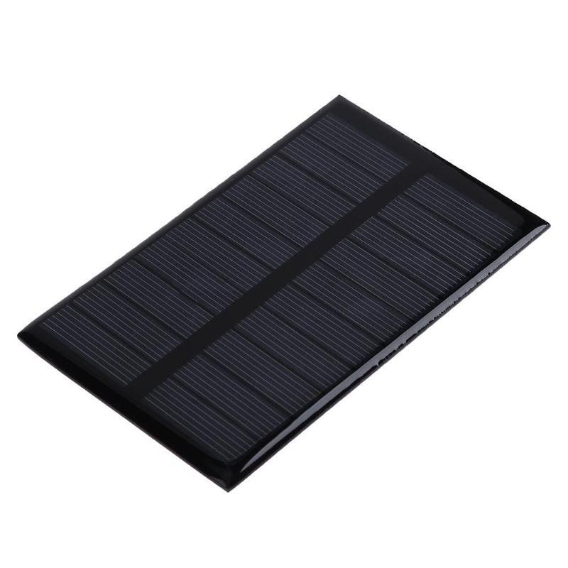 5V 1.2W 240mA DIY Solar Module Polycrystalline Silicon Solar Panel Battery Charger Board for Power Appliances Emergency Lights