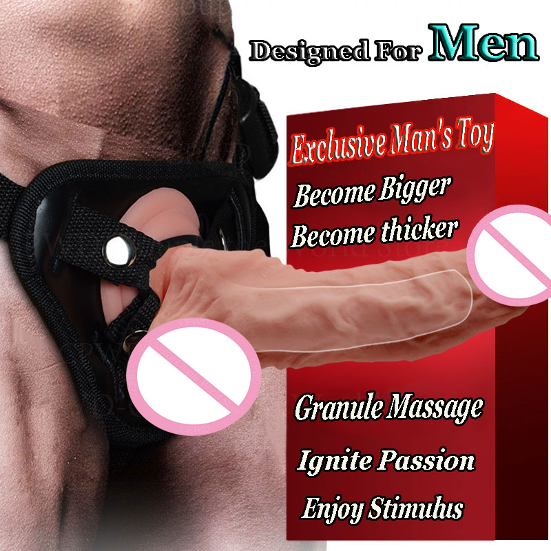 CPWD Designed For Men Hollow soft Realistic Penis Strap On Dildo Gay Strapon Panties Silicone Dildos Dick Sex Toys For man/woman