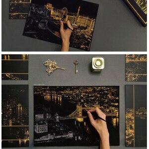 Image 3 - 4 pz/lotto City View Scratch carta di Arte pittura London Las Vegas Casino Firenze Parigi carta Da Disegno per I Bambini Giocattoli Da Colorare libri