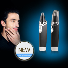 цены Nose Hair Trimmer Safe Face Care Shaving For Men Nose Ear Trimer Hair Removal Machine with Waterproof Stainless Steel Blade