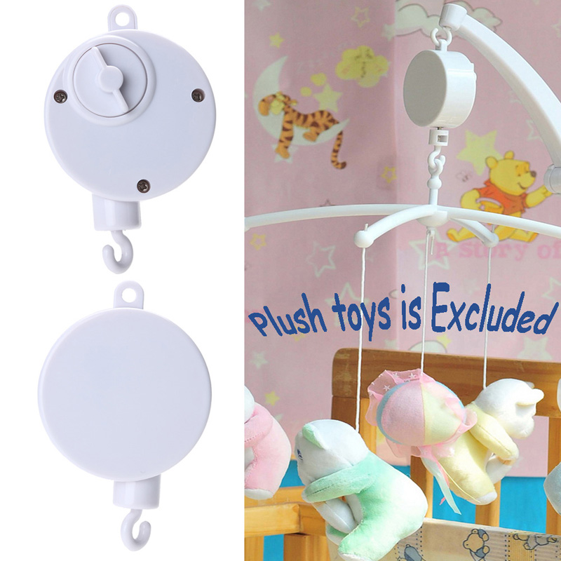 Rotary Baby Mobile Crib Bed Toy Melodies Song Kids Mobile Windup Bell Electric Autorotation Music Box Baby Educational Toys bed cradle musical carousel mobile bed bell support arm cradle music box with rope automatic carillon music box without toys