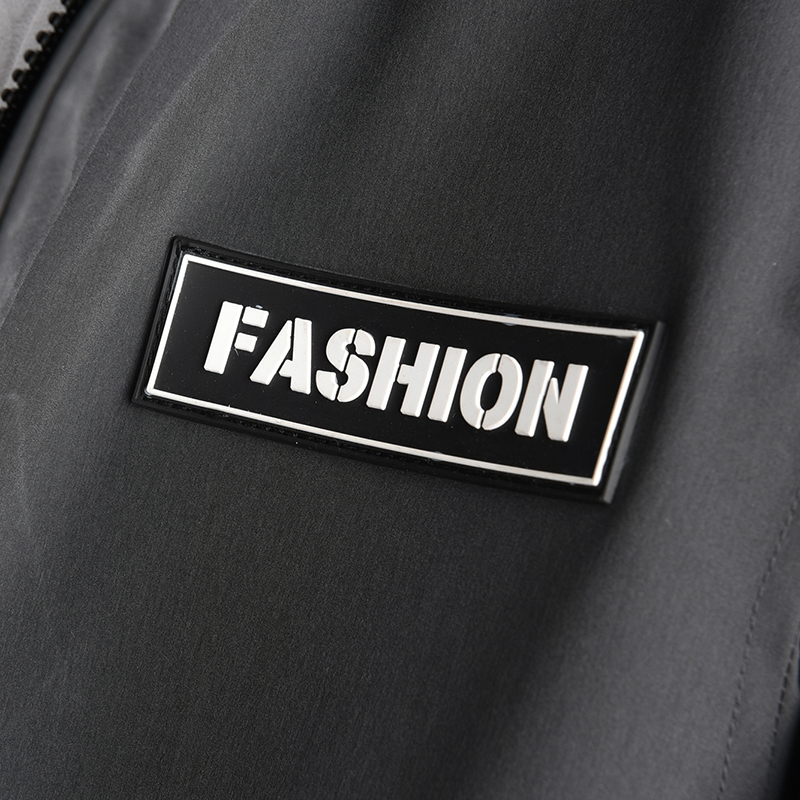 Nouveau New Longue Outwear Noir Slim Manteaux Veste Zipper Parka 8xl Sizse Rembourré gris D'hiver Plus Épais Capuche Section Chaud Hommes Casual L uTlJcK135F