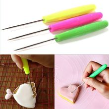 Needle Pastry-Tools Cake-Tester Biscuit Baking Icing Stainless-Steel Dropship 1pc Durable