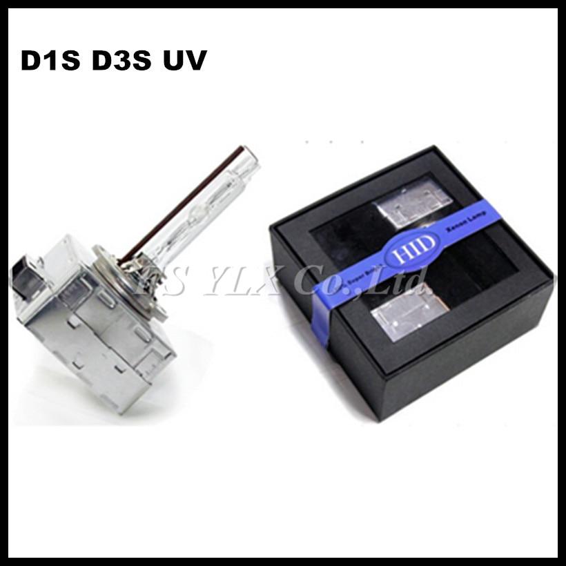 ФОТО 3800LM Fast start UV Super bright High Power High Quality HID xenon lamp bulb Light D1S D3S 5500k 6500k car headlight