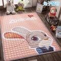 100% хлопок экологичный ребенка ползать коврик утолщение ребенка складные детские коврики гостиной ковер подняться площадку