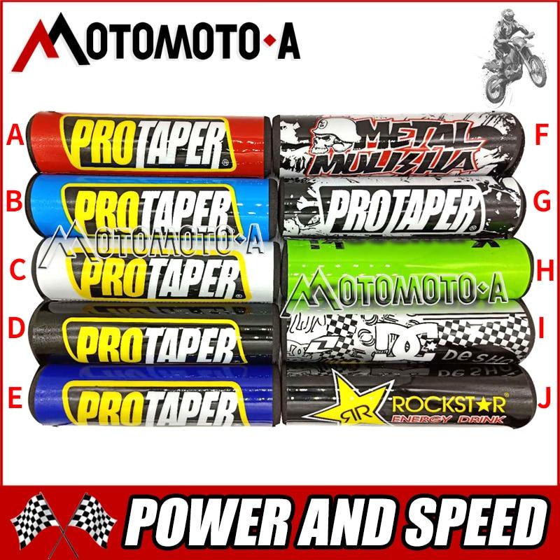 Free shipping universal 20mm Handlebar Pads dirt bike bar protector pit bike rod pad ATV motocross motorcycle PRO