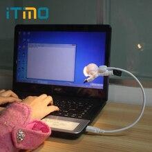 iTimo Creative USB Night Light Diver Shape Portable Reading Lamp for PC Computer LED Desk Light
