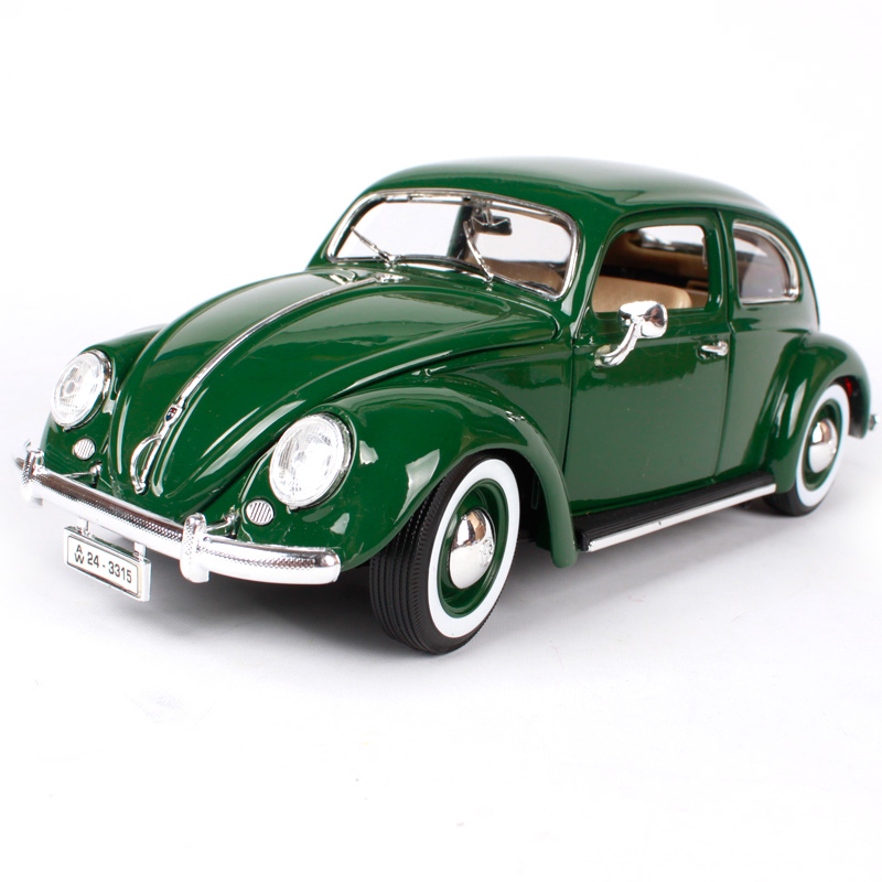 Maisto Bburago 1:18 Volkswagen Beetle Retro Classic Car Diecast Model Car Toy New In Box Free Shipping 12029 stels beetle 1