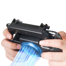 Pubg Controller Gamepad Joystick R1L1 Shooter Pubg Mobile Joypad Cooler Fan with 2000/4000mAh Powerbank for iPhone Android Phone цена и фото