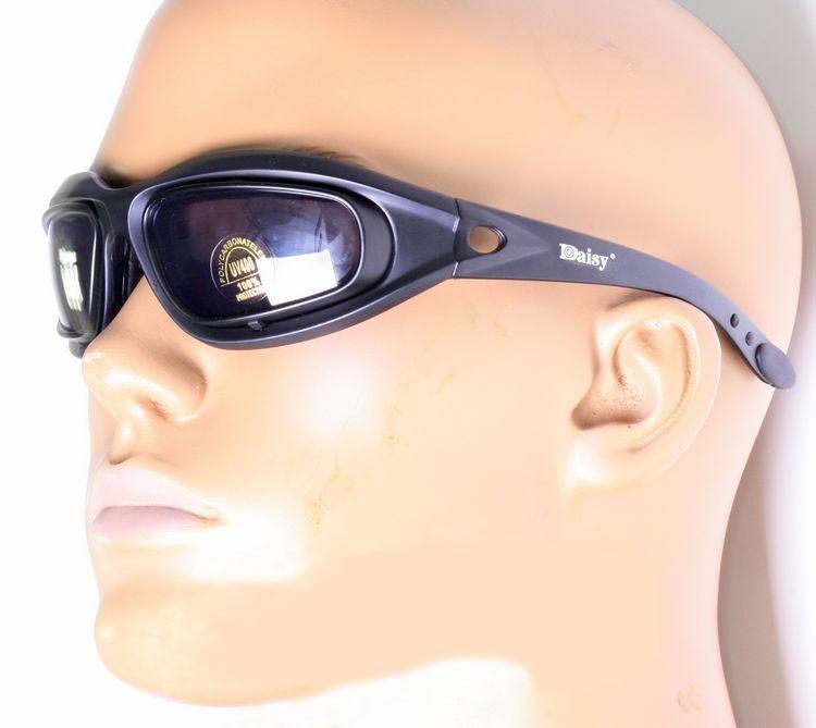 2d659fe79fe Polarize Daisy C5 Army Goggles Desert Storm 4 Lenses
