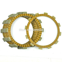 LOPOR 7PCS Motorcycle Clutch Friction Plates Set for Suzuki SV400 1998 1999 2001 2005 SV400S 1998 2005 SV650 SV650S 98 02 new
