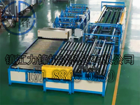 Alibaba Recommend Duct Forming Machine Auto Hvac Square Duct Manufacture Machine Price For Sale