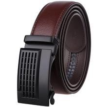 Men's Genuine Leather Belt Quality Fashion Belts Men Luxury Strap Male Waistband Automatic Buckle Belt for Jeans 110-130cm