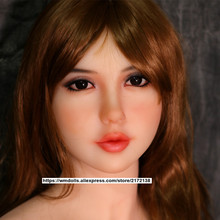 New arrival  WM Doll Heads TPE Sex Doll Heads For full body silicone  doll 140-172cm