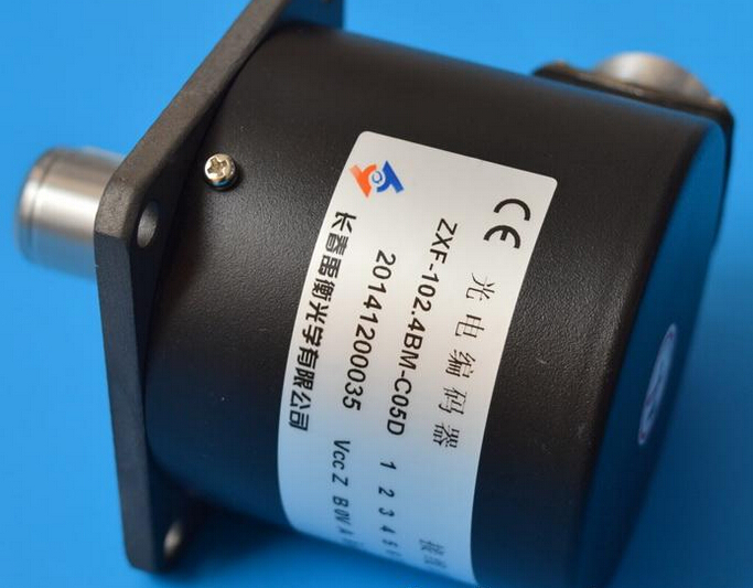 New authentic Changchun Yuheng encoder ZXF-102.4BM-C05D 1024P / R spindle rotary encoder