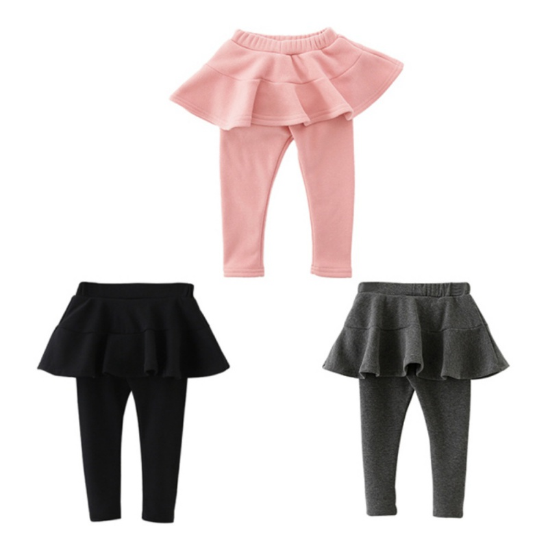 df9d7fee4 New Kids Girls Leggings Clothing Cotton Candy Color Pant Skirt For ...