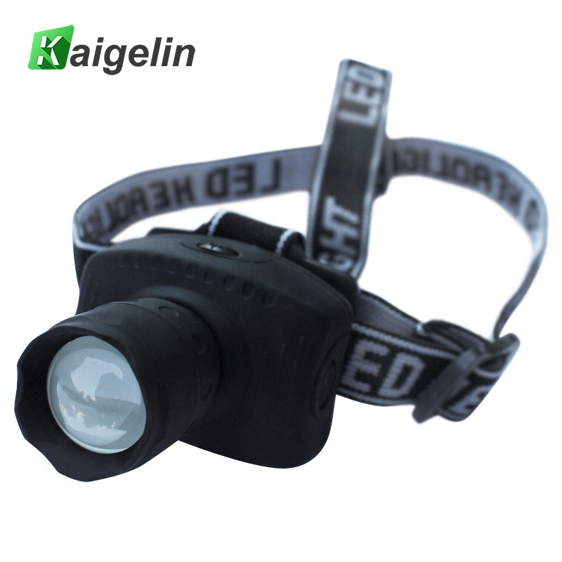 High Power 3W LED Headlamp Telescopic Headlight Camping Fishing Hiking Hunting Riding LED Head light Cabeza Fog Lamp Flashlight