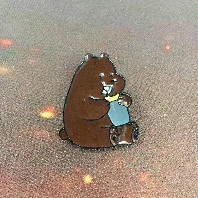 Брошки Мы обычные Медведи 2