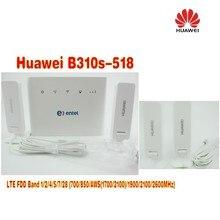 +2pcs antenna Unlocked Huawei B310 B310s-518  150Mbps 4G LTE CPE WIFI ROUTER Modem