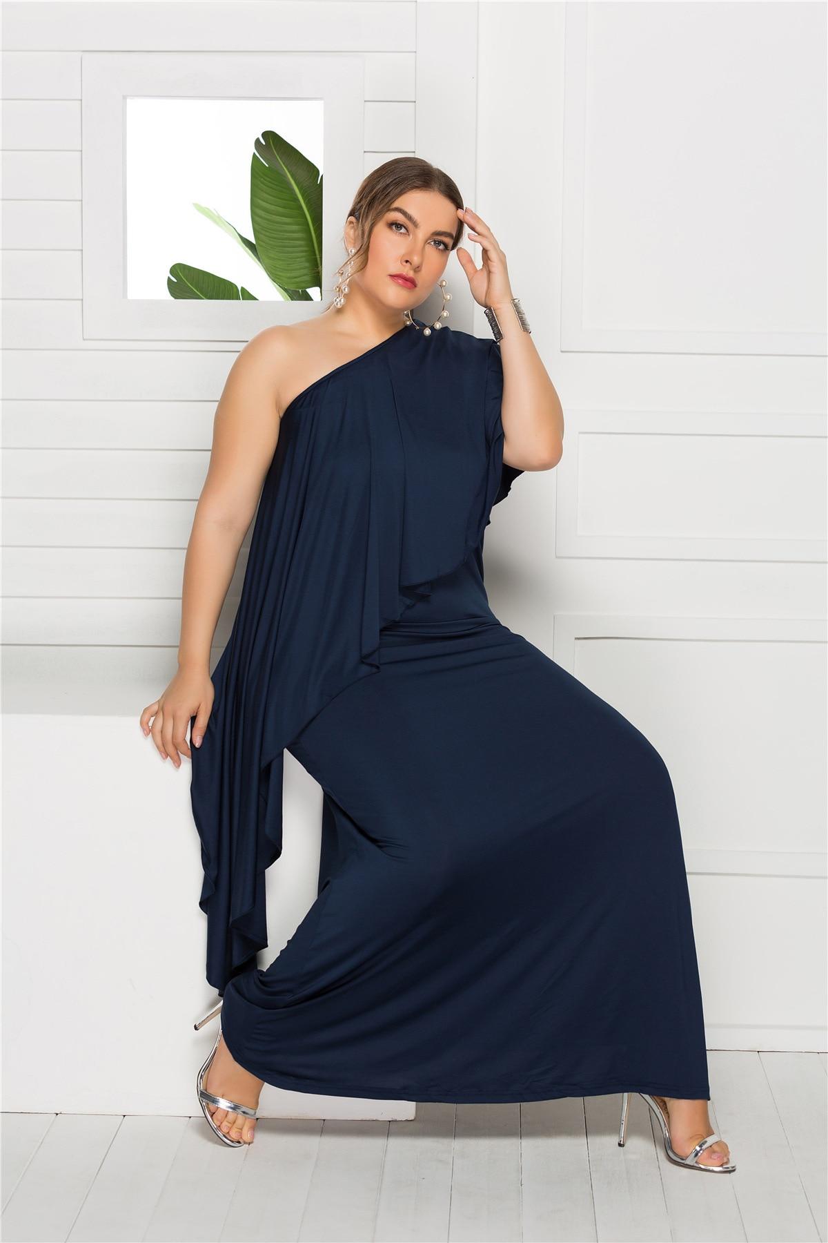 Zaatora Plus Size Loose Maxi Dress 22