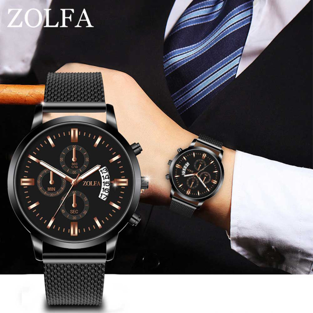 Luxury Watches Stainless Steel Dial Casual Bracele Watch  Men's Watch Wrist Party Decoration Suit Dress Watch Gifts Male Man Boy