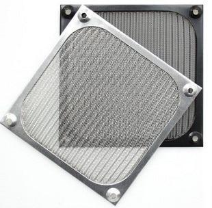 2019 úLtimo DiseñO 12 Cm Ventilador De Chasis De Aluminio Cubierta De Polvo De Filtro De Polvo De Negro/plata/12 Cm Tornillo Rendimiento Confiable