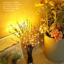 Warm White Lighted Twig Branches Artificial Tree Willow Lamp for Home Holiday Party Decoration Wedding Battery Operated