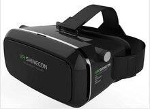 2016 VR Shinecon Virtual Reality 3D Glasses Google Cardboard Universal Video Movie Glasses For 3.5-6.0′ Smart Phones