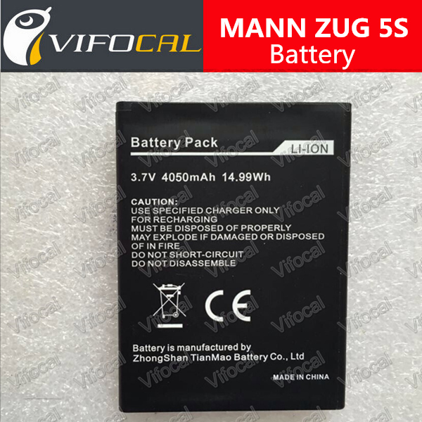 MANN ZUG 5S Battery 4050Mah 100% Original New Battery for Smart Mobile Cell Phone + Free Shipping + Tracking Number - In Stock