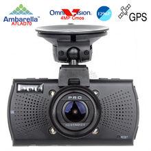Free Ship!Car DVRs Camera A7810G Pro Ambarella A7LA70 Car DVR 1296PCamcorder LDWS Video Recorder Optional GPS Tracker Speedcam