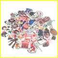 300 pcs Not repeating waterproof stickers for Home decor Wall fridge Travel Suitcase Bike Sliding Plate Car Styling sticke