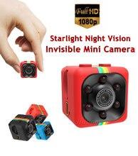 Full HD 1080P Night Vision Invisible Mini Camera SQ11 DV DVR Video