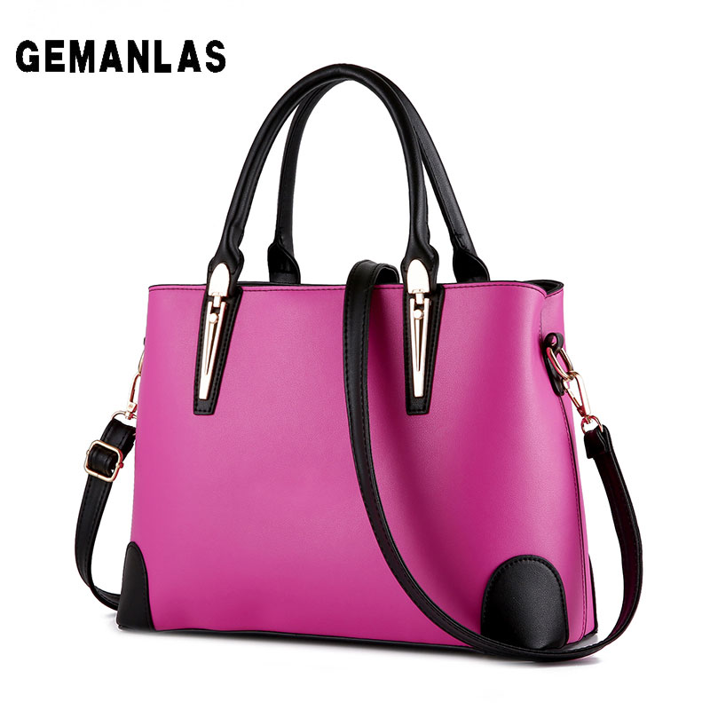 Size 33 24 13cm high quality pu woman business handbag 2017 new large capacity solid color
