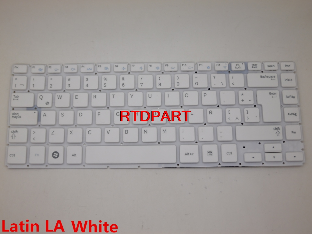 Laptop Keyboard for Samsung NP500P4A NP500P4C Q468 Q470 Arabia AR BA59-03295D HMB3353GSA Black with Backlit