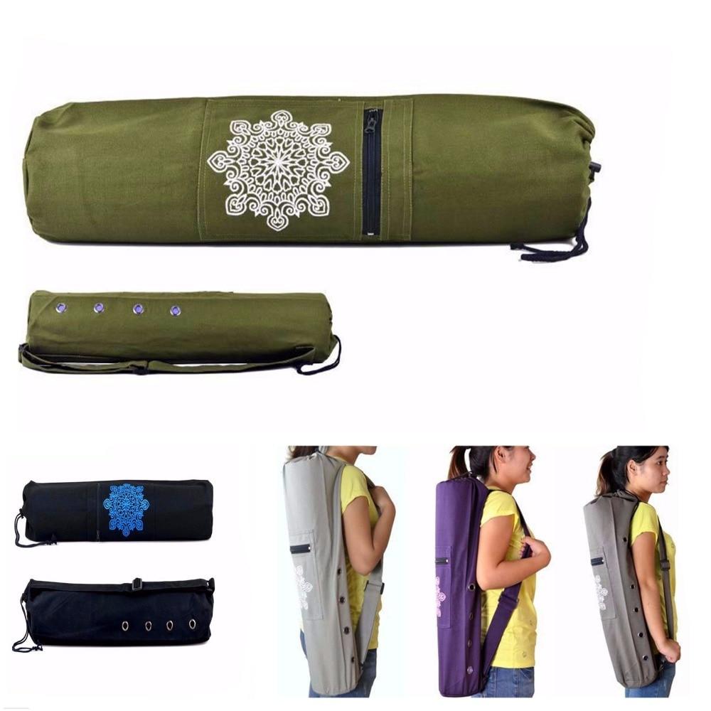 Ուսերի ժապավենով կտավ Yoga Yog Mat Carry Carrier - Ֆիթնես և բոդիբիլդինգ - Լուսանկար 1