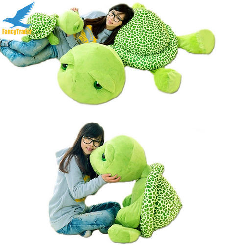 Fancytrader 59\'\' 150cm Lovely Stuffed Soft Giant Tortoise Turtle Toy, Free Shipping FT50059 (7)