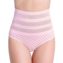 Womens High Waist Postpartum Tummy Control Body Shaper Briefs Stretch Underwear