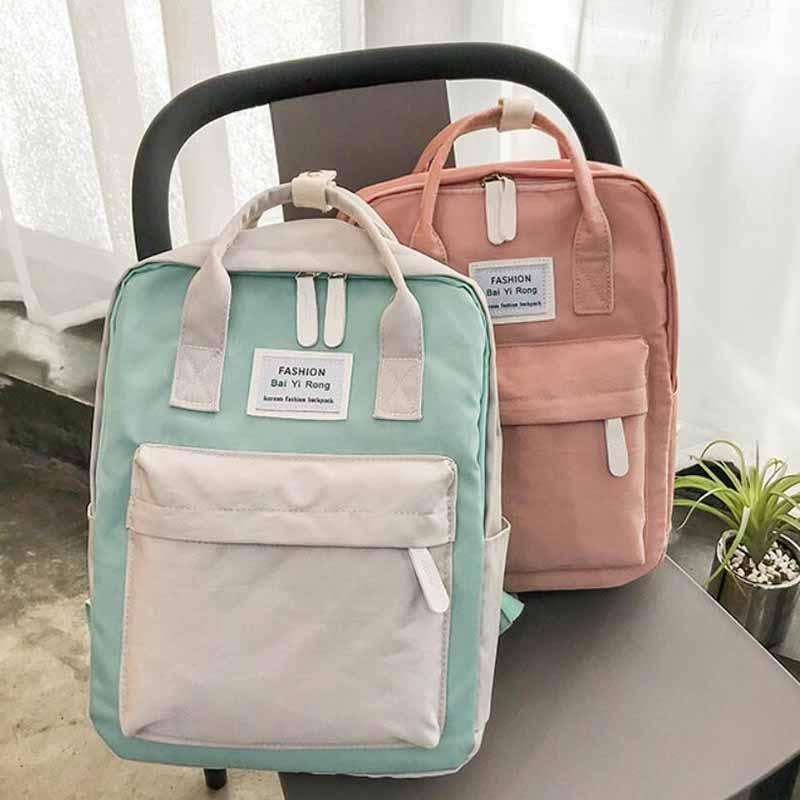 HTB1fCNCKuuSBuNjSsziq6zq8pXao Yogodlns Campus Women Backpack School Bag for Teenagers College Canvas Female Bagpack 15inch Laptop Back Packs Bolsas Mochila