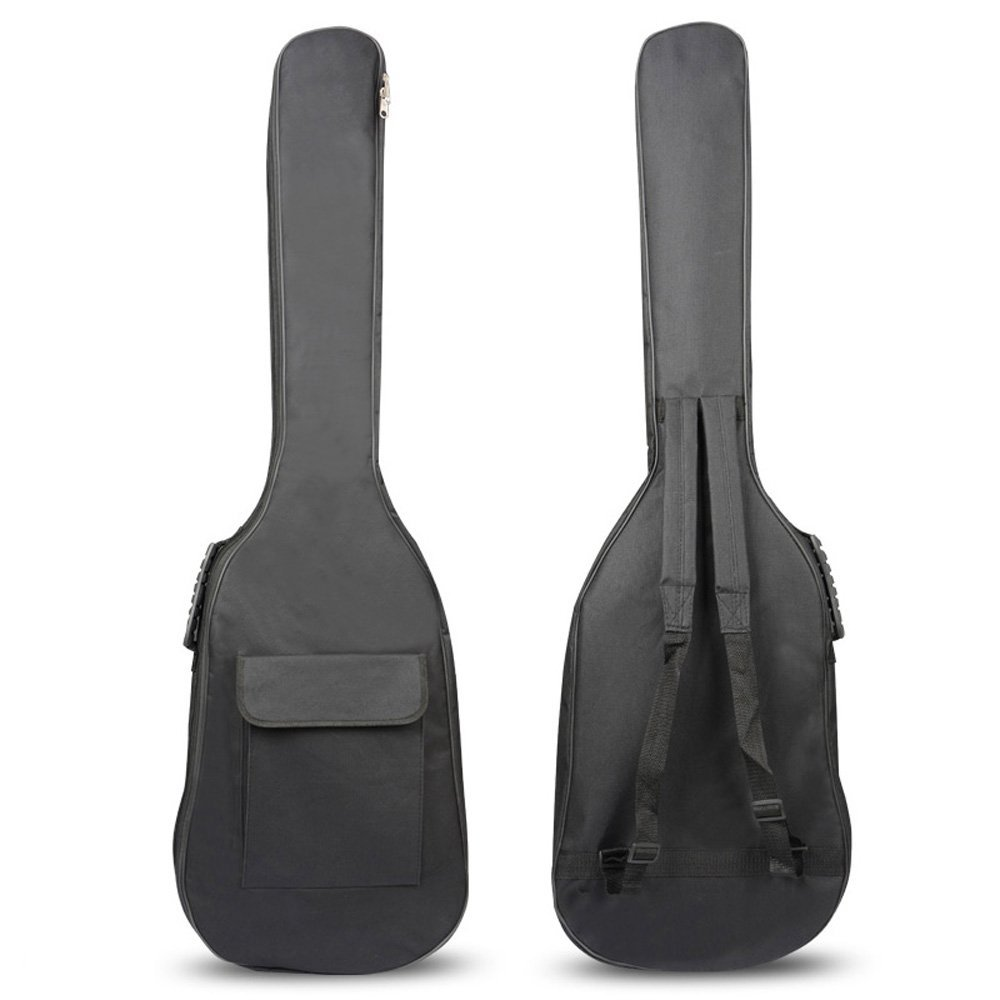 Popular Electric Bass Guitar Bag Meterial Protect Your Electric BassBass Folk Bag Case Backpack Guitarra Bass Accessories waterproof thicken 11 5 mm electric guitar bag case backpack guitarra accessories parts colorful cloth carry gig