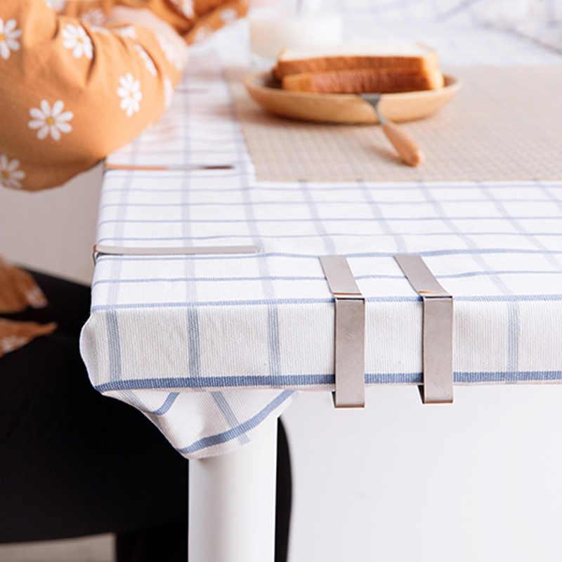 'The Best' 6 Stks/set Tafelkleed Clip Rvs Verstelbare Tafel Cover Houder Voor Thuis Wedding Party Picknick Clamp Gereedschap 889