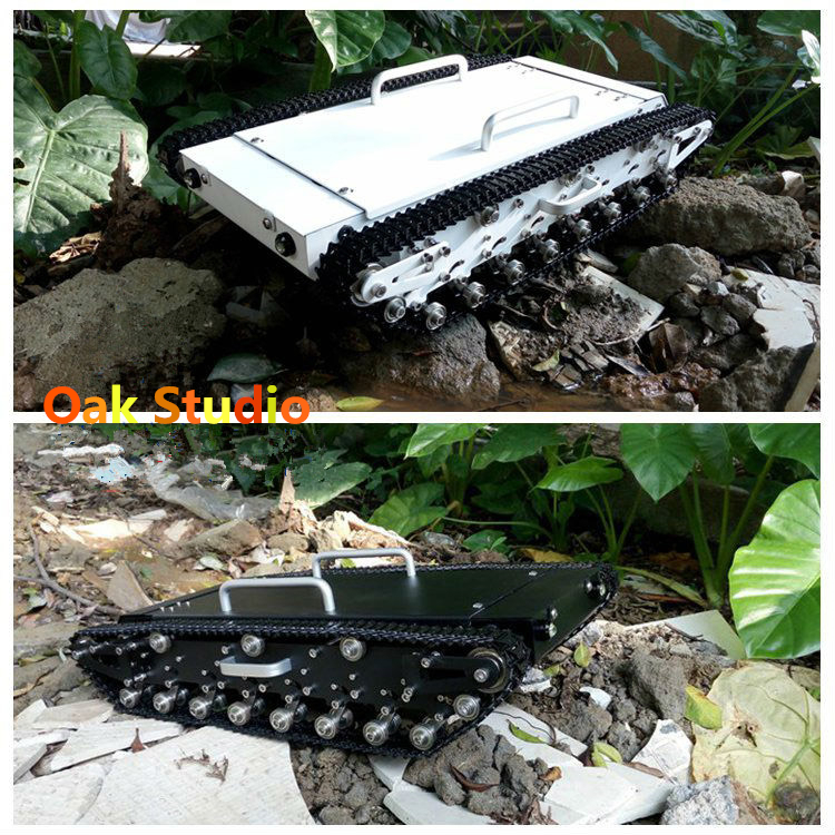 WT 500 Metal tank car chassis All metal structure big size load large obstacle surmounting tank