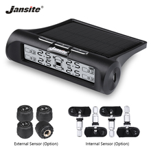 Jansite Car TPMS Tire Pressure Monitoring System Solar Power Universal Real-time Displays 4 Tires and Temperature tpms