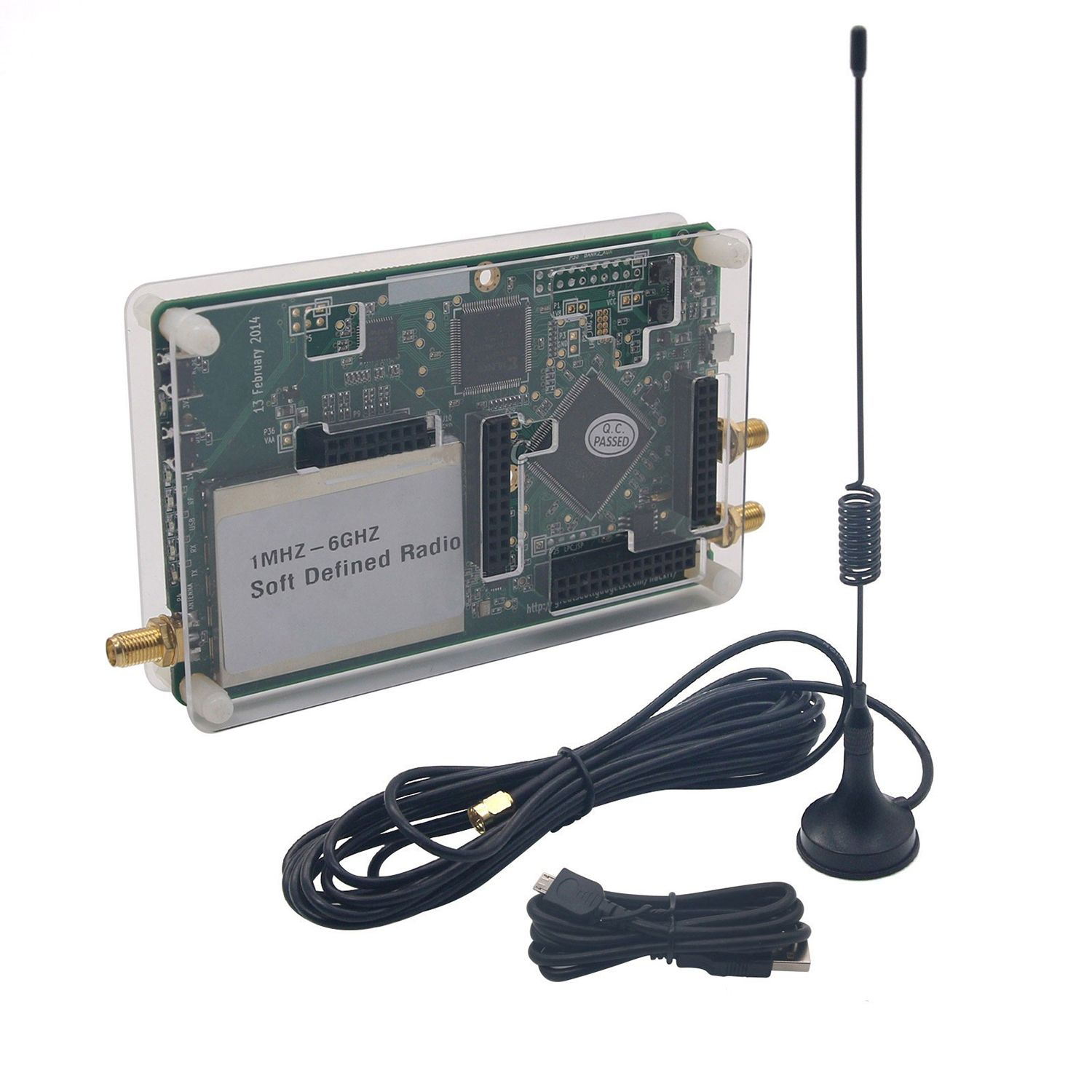 1MHz-6GHz SDR Platform Software Defined Radio Development Board 2018 hackrf one rtl 1mhz to 6 ghz 8bit quadrature rf system software defined radio sdr communication experimental platform