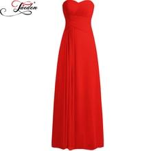 JAEDEN A Line Sweetheart Neck Sleeveless Chiffon Bridesmaid Dresses Pleats Custom Colors and Sizes Bridesmaid Dresses 2017 E358