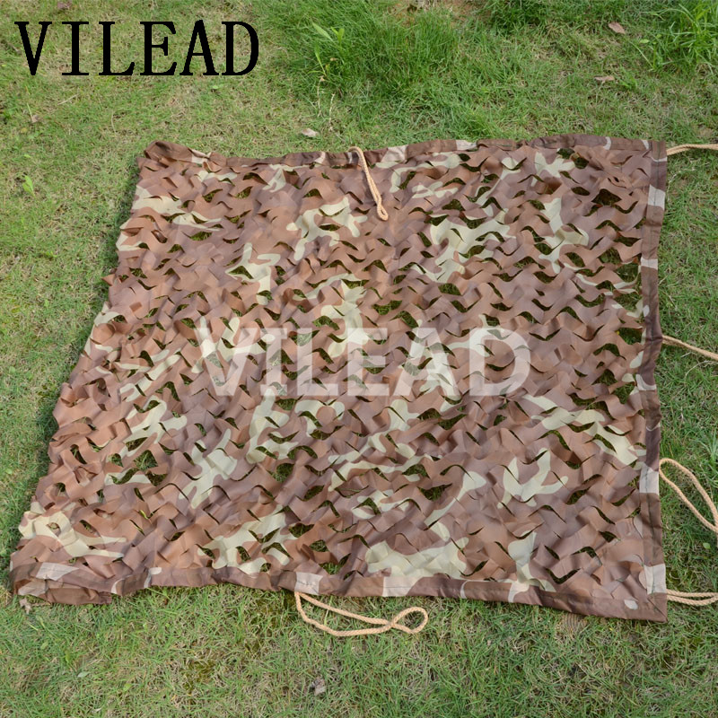 VILEAD 2 5M x 7M 8FT x 23FT Desert Digital Camo Netting Military Army Camouflage Net